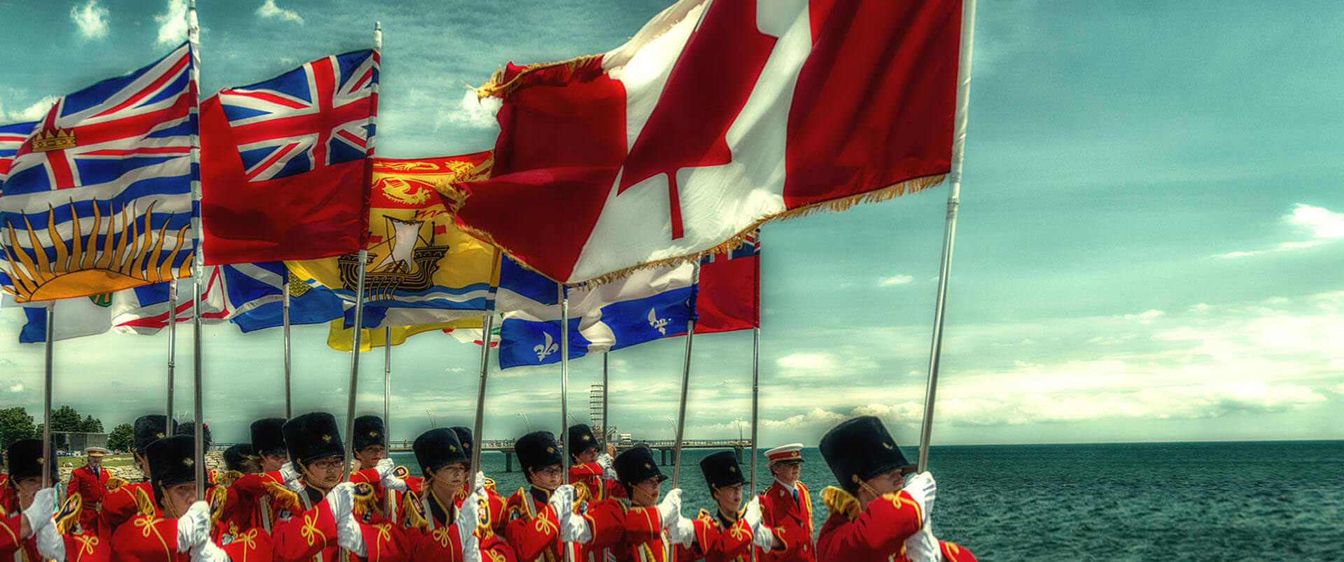 Banner-02-2_Canadian_army_with_a_flag
